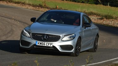 Mercedes C-Class Coupe - front cornering