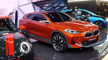 New BMW X2 concept at Paris 2016