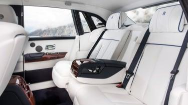Rolls-Royce Phantom - passenger seats