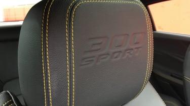 Jaguar XE 300 Sport - headrest