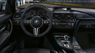 BMW M3 CS - cabin