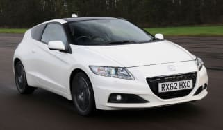 Honda CR-Z front tracking