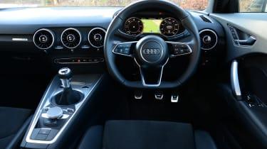Audi TT Ultra - interior