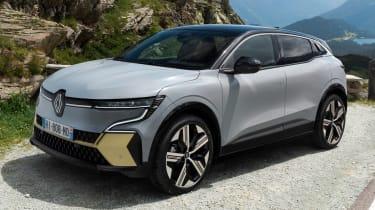 Renault Megane E-Tech Electric SUV - front