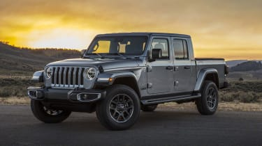 Jeep Gladiator front quarter static