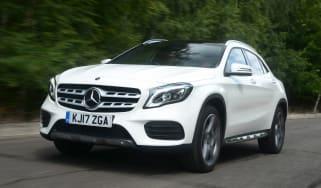 Mercedes GLA facelift - front