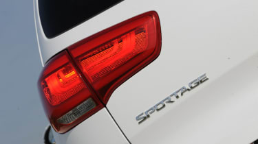 Kia Sportage 2014 badge