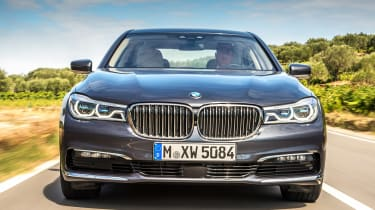 New BMW 7 Series 2015 nose