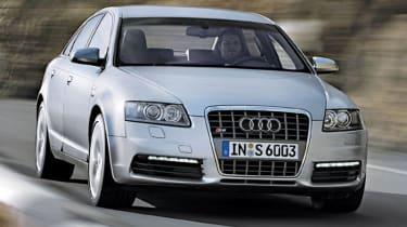 Front view of Audi S6 quattro
