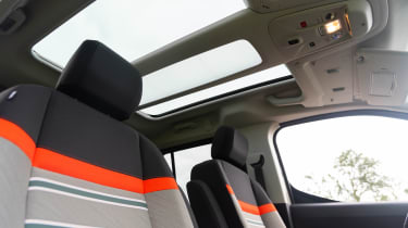 Citroen Berlingo - front seats