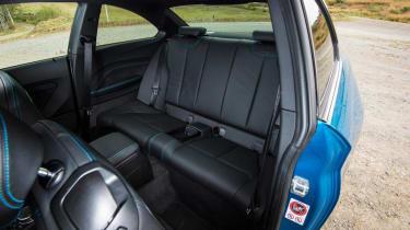 BMW M2 - rear seats