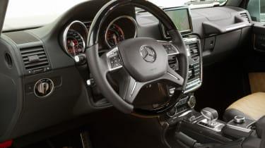 Mercedes G63 AMG dash