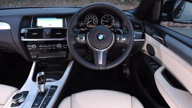 Used BMW X4 - dash