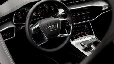 Audi A6 - steering wheel