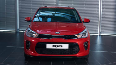 New Kia Rio - reveal event front