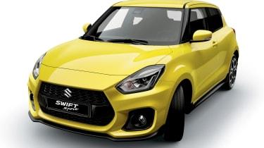 2018 Suzuki Swift Sport front quarter