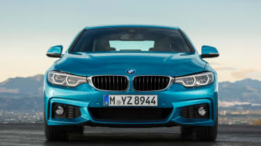 BMW 4 Series facelift 2017 - front