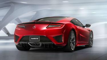 Honda NSX - rear
