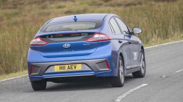 Hyundai IONIQ EV 2016 UK - rear cornering
