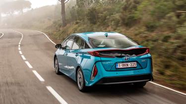 Toyota Prius Plug-In 2017 - rear tracking