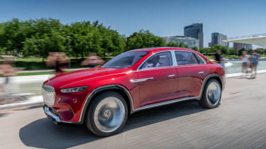 Vision Mercedes-Maybach Ultimate Luxury concept - front action