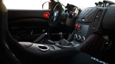 Nissan Project Clubsport 23 interior