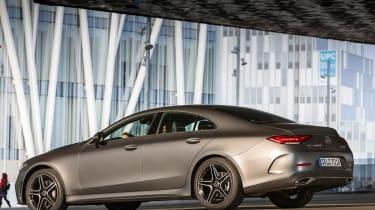 Mercedes CLS 400 d - rear static