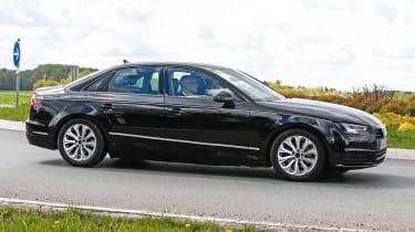 New Audi A4 2015 spy shots 4