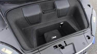 Audi R8 RWS - boot