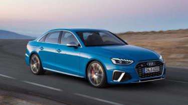 Audi S4 - front action