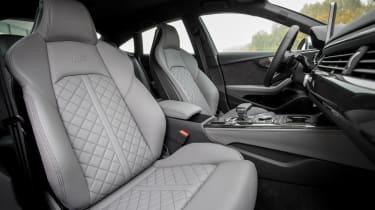 Audi S5 Sportback - front seats