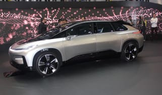 Faraday Future CES 2017 front