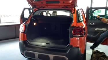 Citroen C3 Aircross boot