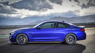 BMW M4 CS 2017 side on