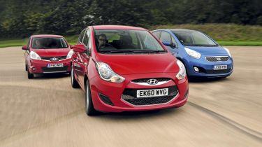 Hyundai ix20 vs. rivals