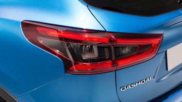 New Nissan Qashqai facelift - rear light detail