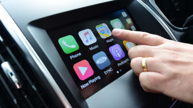 Ford Edge second report - Apple CarPlay