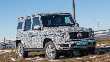 Mercedes G-Class prototype - front static