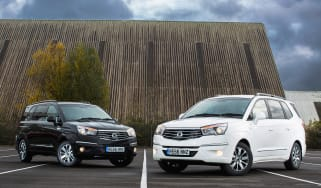 Ssangyong Tursimo Black and White