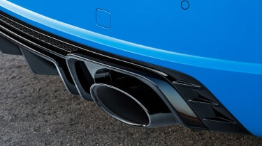 Audi TT RS Coupe - exhaust