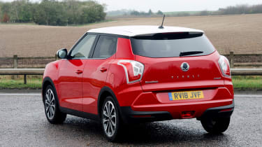 SsangYong Tivoli Ultimate rear quarter