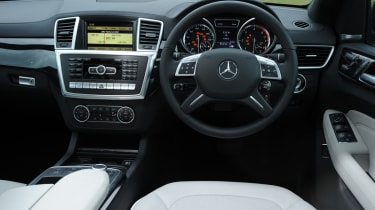 Mercedes ML 350 CDI interior