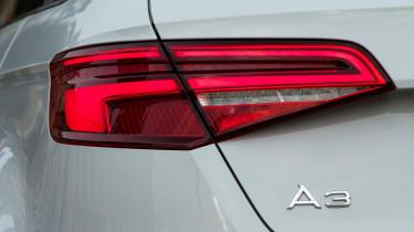Audi A3 rear light