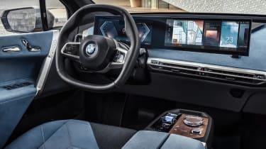 BMW iDrive 8 - blue