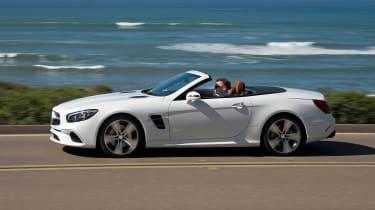 Mercedes SL400 - side action