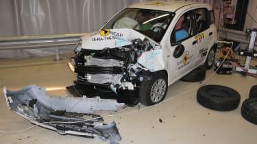 Fiat Panda NCAP crash test