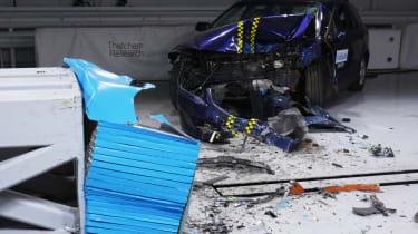Rusty NCAP-style test impact