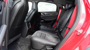 Porsche Cayenne Coupe GTS - rear seats