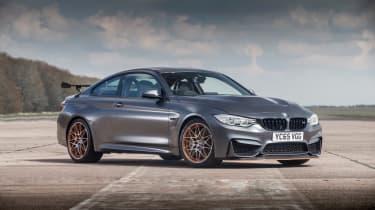 BMW M4 GTS UK 2016 - front quarter