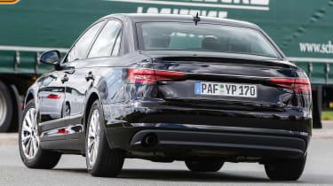 New Audi A4 2015 spy shots 8